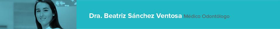 Curriculum Beatriz Sánchez Ventosa - Dentista