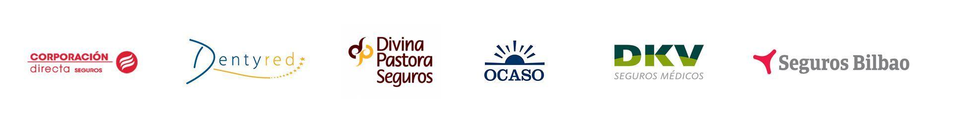 Aseguradoras con las que trabajamos en Clínica Dental Ventosa Sánchez