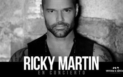 Sorteamos 2 entradas para el concierto de Ricky Martin del 1 de septiembre en Córdoba
